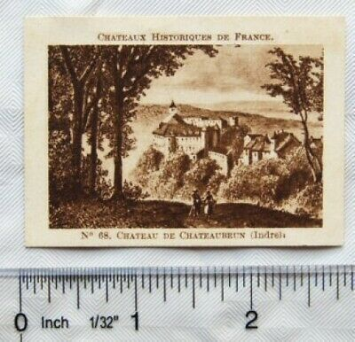 $ CDN2.14 • Buy Vintage: French Chocolate Card No. 68 Chateau De Chateaubrun, Indre