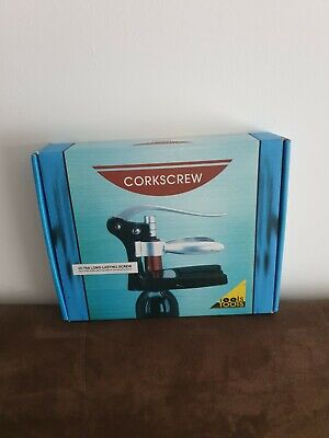 £9.99 • Buy TOOLS Corkscrew Lever Action Cork Wine Bottle Opener. Used Once - See Photos -