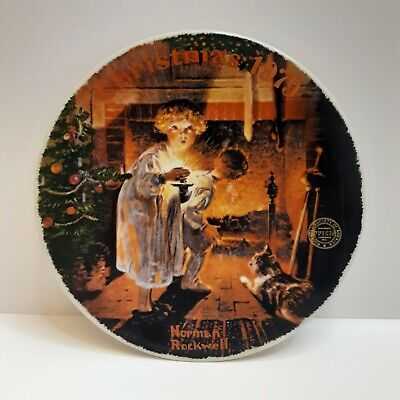 $ CDN12.58 • Buy Norman Rockwell's CollectibleChristmas 1979 Plate#09,918F