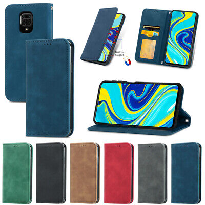 AU12.49 • Buy For Xiaomi Mi 11 Redmi Note Wallet Leather Card Holder Magnetic Flip Case Cover