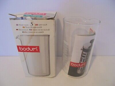 Bodum Spare Glass For Cafetiere 3 Cup - New & Boxed • 11.95£