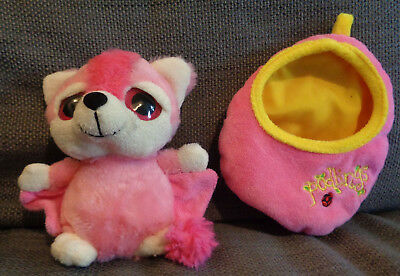 £7 • Buy Childrens Comforter Keel Toys Pink Possum Podlings Plush Soft Toy 6 Inches Tall