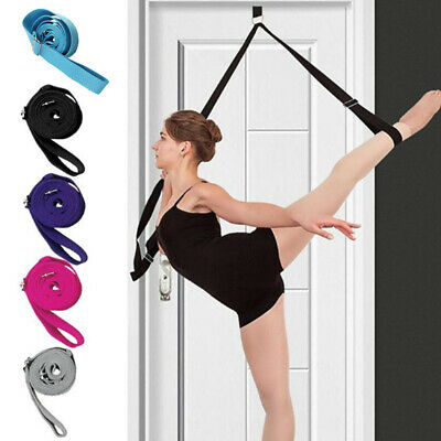 £1.95 • Buy Ballet Stretch Band Leg Door Stretching Strap Dance Home Exercise Foot Stretcher