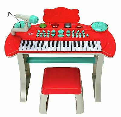 £39.99 • Buy Chad Valley RED Keyboard Stand Stool Mic Kids Boys Girls Musical Birthday Gift