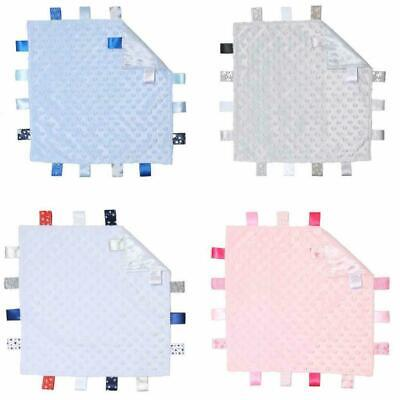 £4.99 • Buy Baby Taggie Blanket Toy With Tags. Taggy Available In Pink, Blue, Grey And White