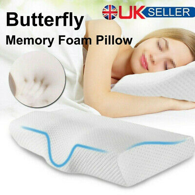 Contour Memory Foam Neck Back Pillow Support Orthopaedic Firm Head My Pillows • 12.49£