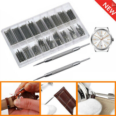 £2.49 • Buy 360x Watchmakers Spring Bar Pins Remover Tool Link Wrist Watch Band Strap Repair