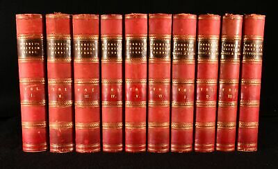 £4160 • Buy 1851-1857 10vol A History Of British Birds Nest And Eggs British Butterflies ...