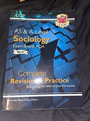 £10 • Buy AQA A Level Sociology Revision Guide