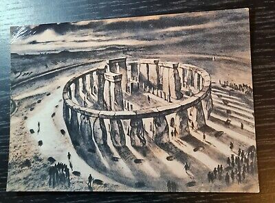 £1.40 • Buy Stonehenge - View From The East Postcard