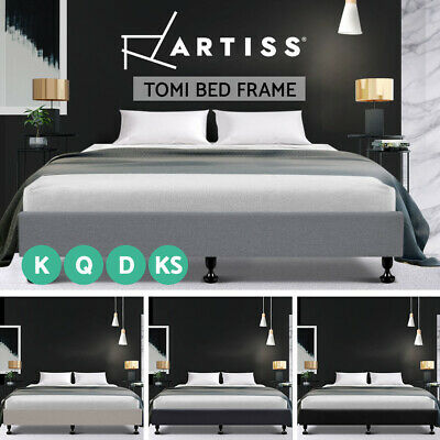 AU197.95 • Buy Artiss Bed Frame Base Queen Double King Single Full Size Platform Foundation