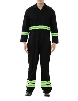 $20.99 • Buy TOPTIE Mens Safety Coverall With Green Reflective Tape, Regular Length