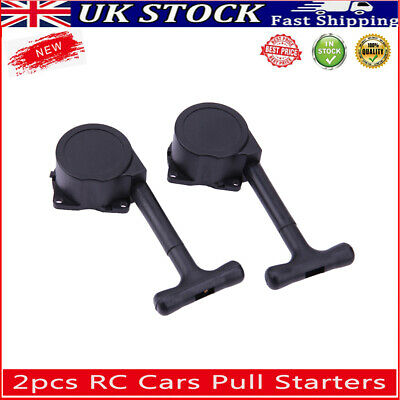 £7.92 • Buy 2pcs RC Cars Pull Starter Vehicle Parts For 1/10 Hsp Redcat 1/8 Gas Nitro Engine