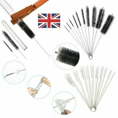 £3.35 • Buy 10X Cleaning Brushes Test Tube Glass Cup Bottle Straw Nylon Washing Cleaners