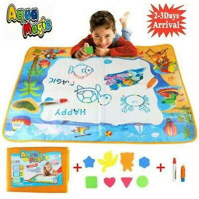 £5.98 • Buy Large Doodle Water Painting Drawing Mat Toys Boys Girls Kids Board Aquadoodle