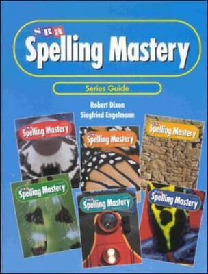 AU20.20 • Buy Series Guide To Spelling Mastery By Englemann