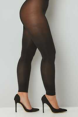 £8.98 • Buy Yours Women's Black Footless 80 Denier Tights Black Size