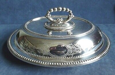 £16 • Buy SUPERB Large ORNATE 12  ~ SILVER Plated ~ SERVING DISH ~ C1900 By Martin Hall