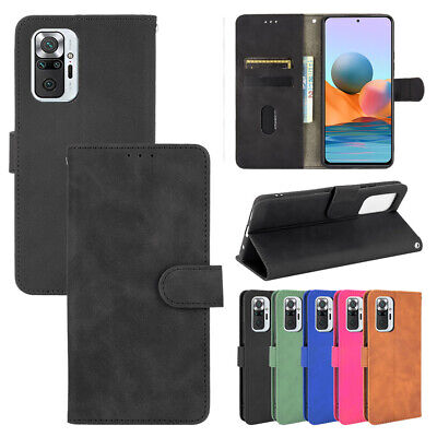 AU8.16 • Buy For Xiaomi Redmi Note 10 Pro 10S 9T Magnetic Wallet Card Leather Flip Case Cover