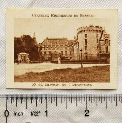 $ CDN2.14 • Buy Vintage: French Chocolate Card No. 64 Chateau De Rambouillet (Seine-et-Oise)