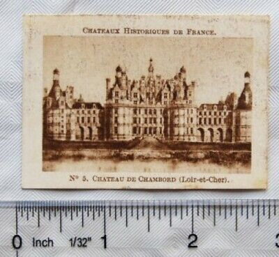 $ CDN2.14 • Buy Vintage: French Chocolate Card No. 5 Chateau De Chambord (Loir-et-Cheri)