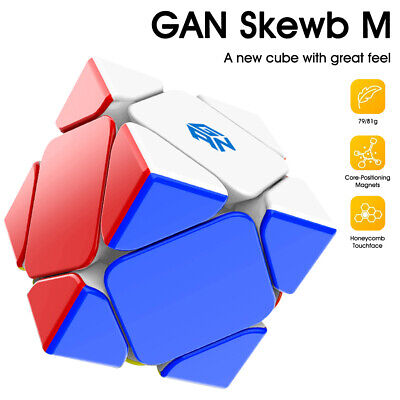 $ CDN48.08 • Buy Magnetic Speed Cube Core Positioning Gans Skweb Puzzle Cube Magic Cube Kids Toy