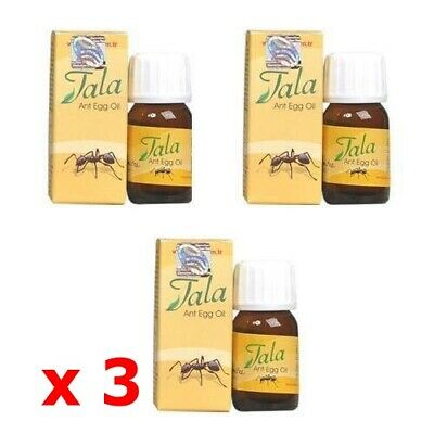 £9.16 • Buy 3 X Tala Ant Egg Oil For Permanent Unwanted Hair Removal Natural Oil FREE SHIP