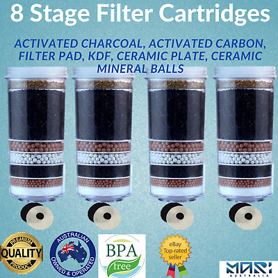 AU80 • Buy 6 7 8 Stage Water Filter Dispenser Purifier Aimex Water Filters Cartridges X 4