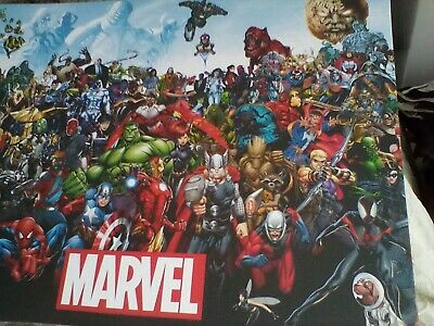 Marvel Universe - Comic Book Characters Canvas Picture  • 10£