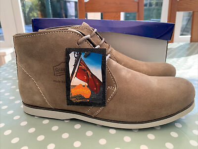 £25 • Buy Gumbies «dock Mate» Sand Suede Boots Size 8 42 New 🛳🛳