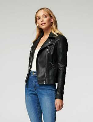 AU65 • Buy $ale - FOREVER NEW Bobbie Vegan Leather Biker Jacket - DI$COUNT PRICE & FREEPOST