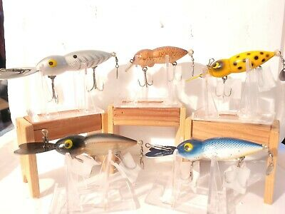 $ CDN17.01 • Buy LOT OF 4 WHOPPER STOPPER HELLBENDER FISHING LURES And 1 TYPE