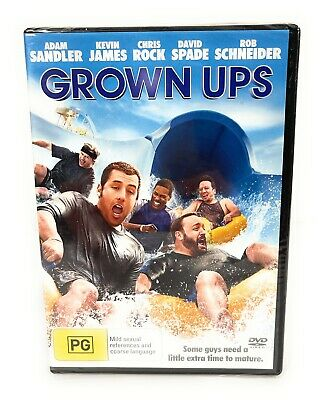 AU9.05 • Buy Grown Ups :  Adam Sandler : New Old Aus Stock : DVD New & Sealed Region 4