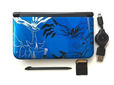 $129.80 • Buy Nintendo 3DS XL LL Pokemon X Pack Xerneas Yveltal Blue Limited Japan Console