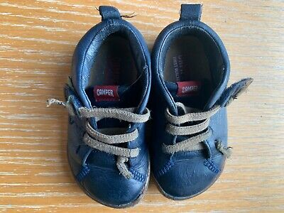 £19 • Buy Camper Leather Trainer 'Peu' In Great Condition (colour Blue). Size EU 22.