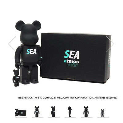 $525 • Buy Be@rbrick Atmos Wind And Sea Bearbrick Japan Rimited
