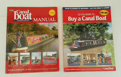 Canal Boat Manual And Canal Buyers Book Paperback Inland Waterways  • 6.50£