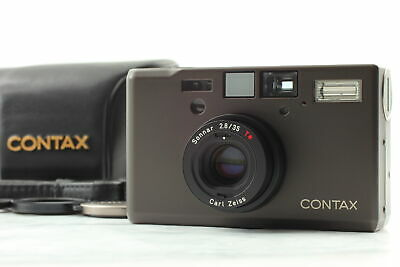 $ CDN3543.89 • Buy [MINT + Adapter] Contax T3 D Black Double Teeth Point & Shoot Film Camera JAPAN
