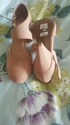 Beige Shoes Size 7 Evans • 6£