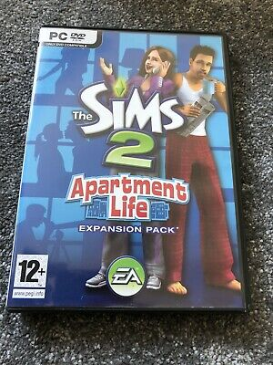 £19.95 • Buy The Sims 2 Apartment Life Expansion Pack Video Game - PC DVD-Rom -Good Condition