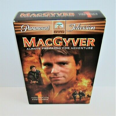 $14.88 • Buy MacGyver: The Complete First Season 1 (DVD, 2005) 1985-1986 TV Series Richard