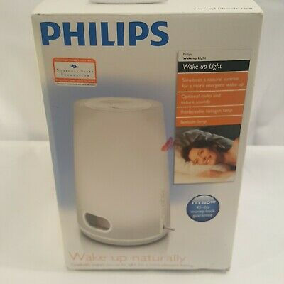AU82.88 • Buy Philips Wake Up Naturally Light Therapy Alarm Clock HF3470 NEW
