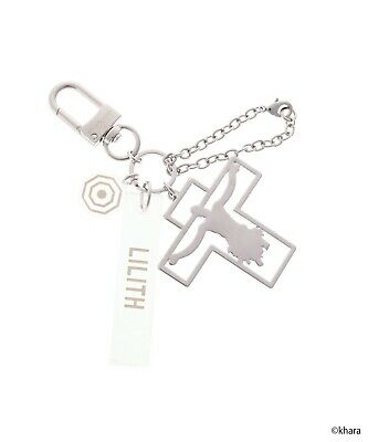 $ CDN120.98 • Buy Evangelion X Samantha Vega Bag Charm LILITH Silver Japan New Collaboration Items