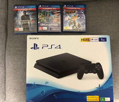 AU390 • Buy Ps4 Console Combo 1TB With Games ( Unwanted Gift ) BRAND NEW IN THE BOX