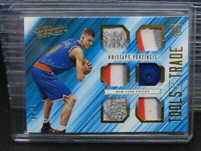 AU4.19 • Buy 2015-16 Absolute Kristaps Porzingis Tools Of The Trade Rookie Patch #36/49 E67