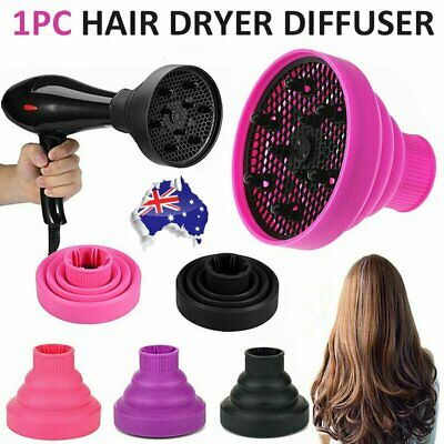 AU16.95 • Buy Silicone NEW Hair Dryer Universal Travel Professional Salon Foldable Diffuser AU
