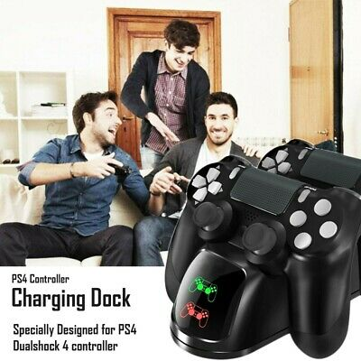 AU16.99 • Buy Wireless Gamepad Controller Fast Charger Dock Station Universal For PS4/Slim/Pro