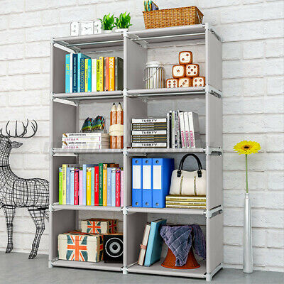 AU29.98 • Buy 8 Cube Storage Rack Shelf Bookcase Cabinet Organizer Bookshelf Book Display