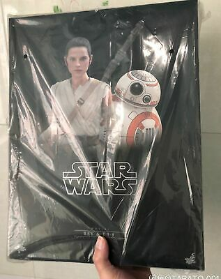 $ CDN511.52 • Buy New Hot Toys MMS337 Star Wars EP VII The Force Awakens 1/6 Rey And BB-8 Set