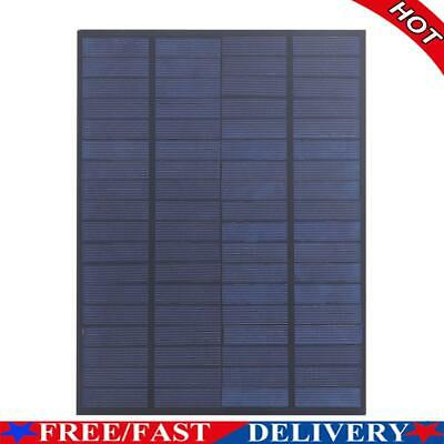 AU15.26 • Buy 5W 18V Solar Panel Polycrystalline Silicon Solar Charger For 12V Battery